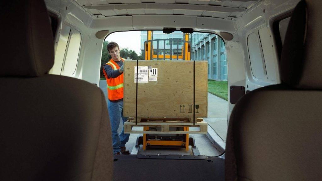 2017 chevy city express cargo van