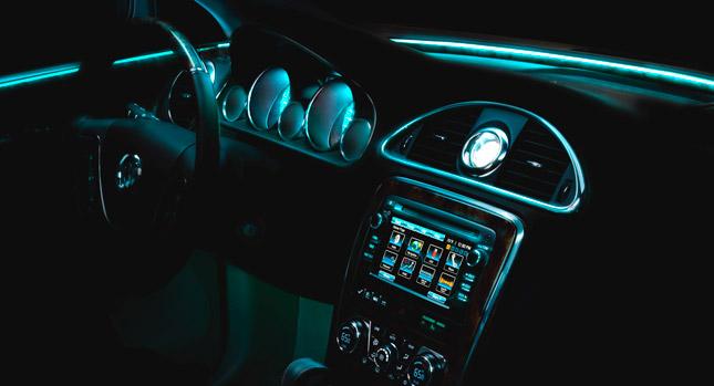 ambient lighting in luxury vehicles