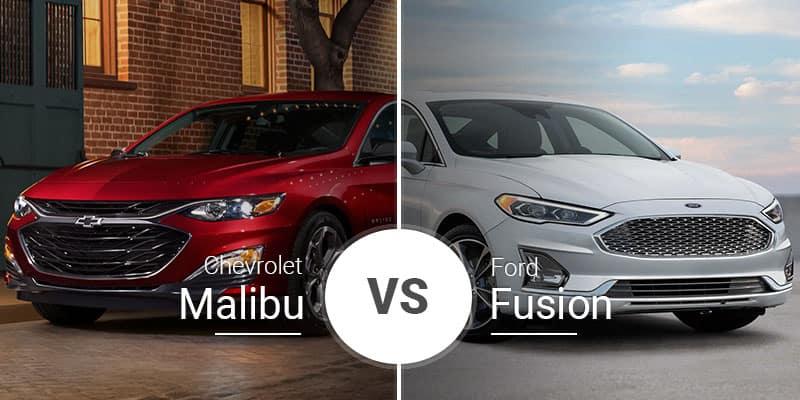 chevy malibu vs ford fusion midsize