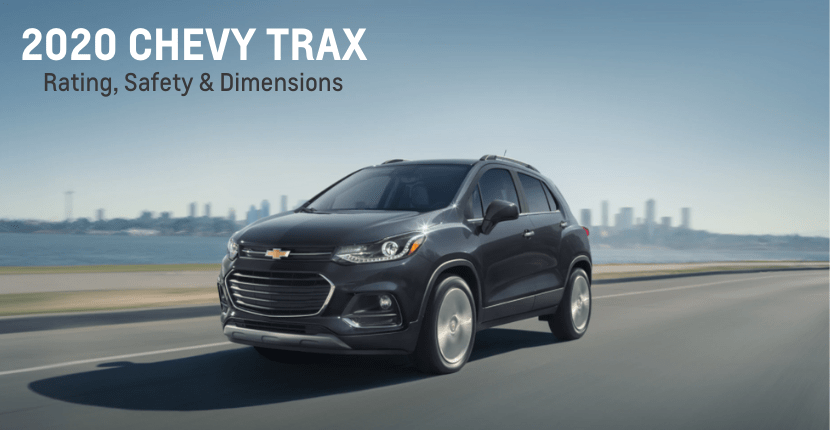 chevy trax rating safety dimensions