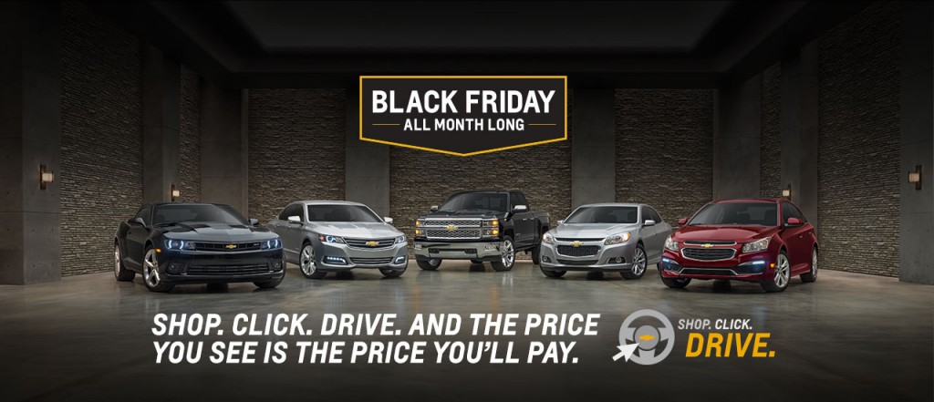 Chevy Black Friday All Month Long Near Akron Oh Progressive Chevrolet