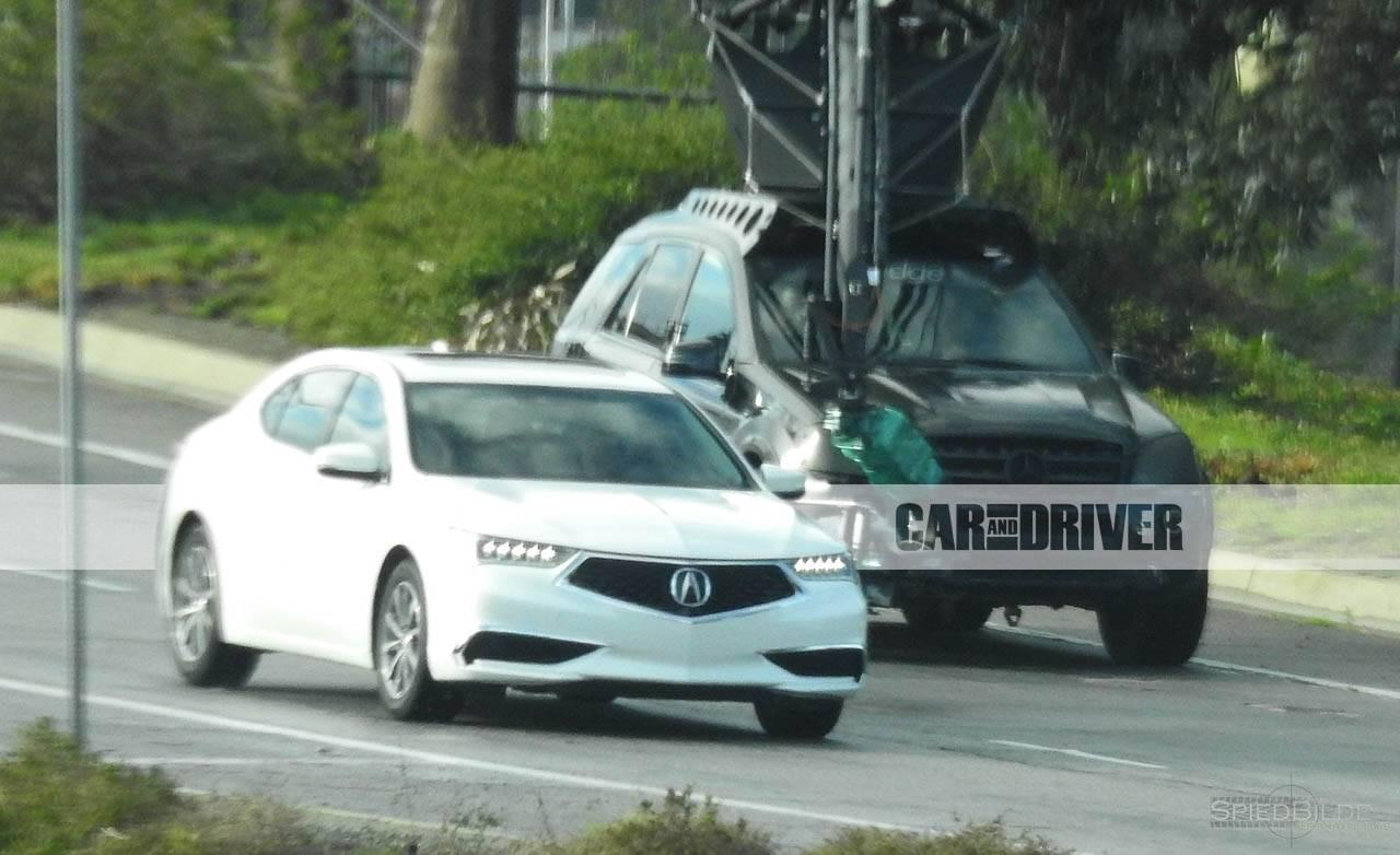 2018 acura tlx new designs spotted