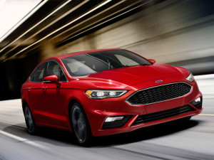 All new Ford Fusion