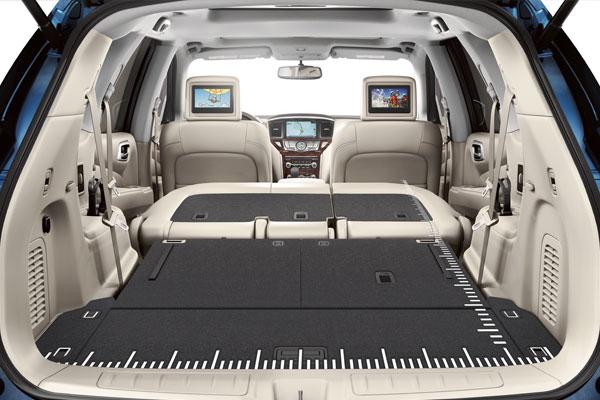 2017 pathfinder interior dimensions. Black Bedroom Furniture Sets. Home Design Ideas