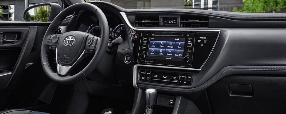 Toyota Corolla Interior Pictures