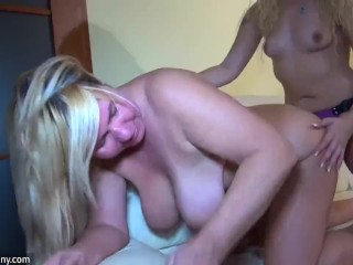 Lesbians Young and Mature women