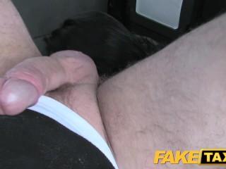 FakeTaxi Infamous John fucks taxi fan hard