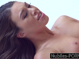Nubiles-Xxx video Erotic Brunettes Intense Orgasm