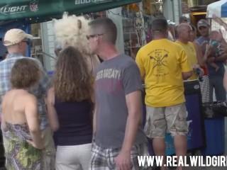 Fantasy Fest Street Flashing Sluts 2