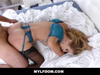 MYLFDom – Mom Caught Cheating Fucked By Her Step Son
