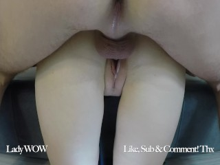 FRIEND OF MY DAD VISITS ME AGAIN. CONDOM IS FULL OF CUM – Lady WOW