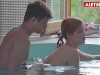 LETSDOEIT – Kinky Czech Couple Fucks In the Swimming Pool