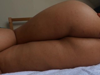 Teasing and spanking my ass
