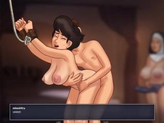 Summertime Saga – Cookie Jar – All Sex Scenes Only – Sister Angelica #9 Part 3