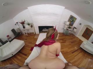 WandaVision XXX Busty Redhead Skylar Snow Rides Your Cock VR Porn