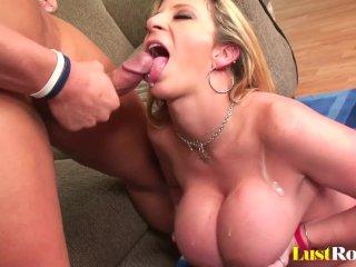 Incredible boob-job by an incredible mommy Sara Jay