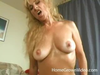 Dirty Blonde Mia Takes Two Hard Cocks At Once