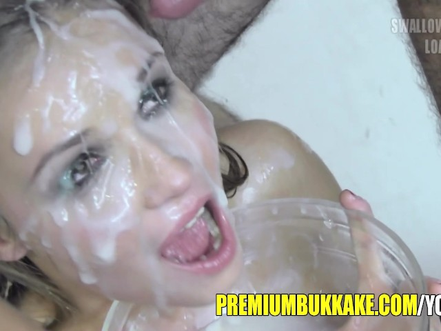 Beautiful Blonde Mouthful Of Cum Facialized And Swallows Free Porn Videos Youporn