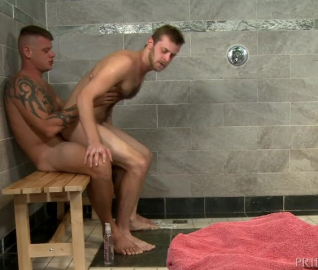 Horny 4 Hairy Guys Tattoos Big Dicks In A Public Shower Free Porn Videos Youporngay
