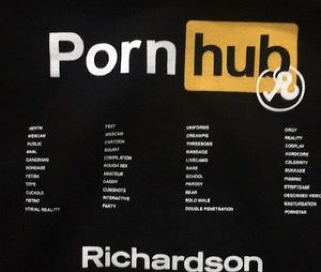 Richardson X Porn Hub Collaboration Shirts Richardson X Porn Hub Exclusive Pullover Hoodie
