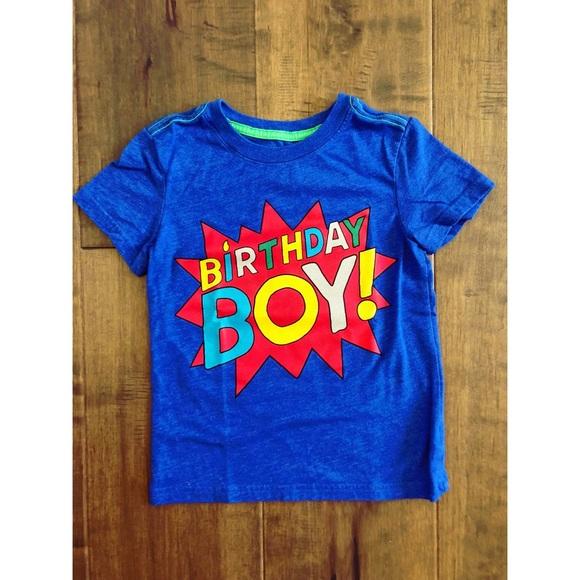 Cat Jack Shirts Tops Final Sale Birthday Boy T Shirt 34y Poshmark