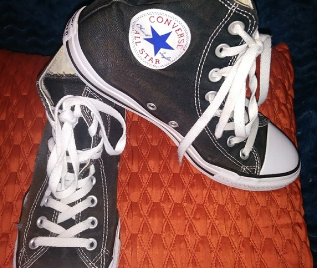 Converse Shoes Mens  Trashed Converse High Tops