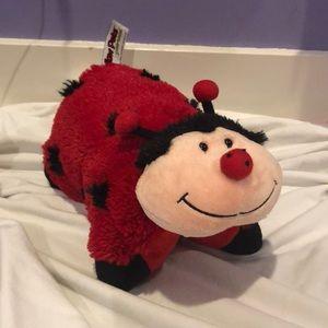 ladybug pillow pet peewee