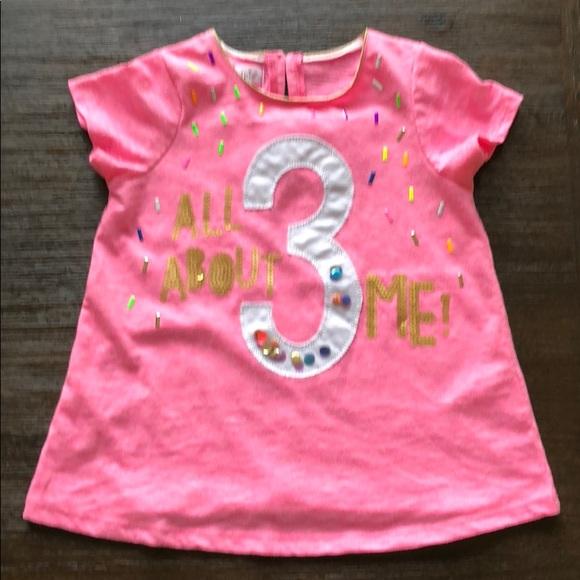 Mud Pie Shirts Tops 3rd Birthday Tee Poshmark