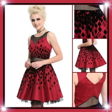 DC Comics Dresses   Harley Quinn Formal Dress   Poshmark DC Comics Harley Quinn Formal Dress