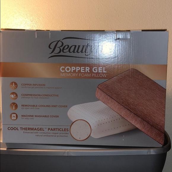 beautyrest foam pillow matres image