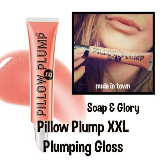 soap glory pillow plump xxl gloss nude in town