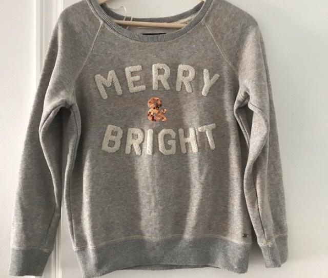 Ae Merry Bright Christmas Sweater
