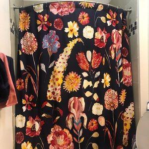 anthropologie garden buzz shower curtain
