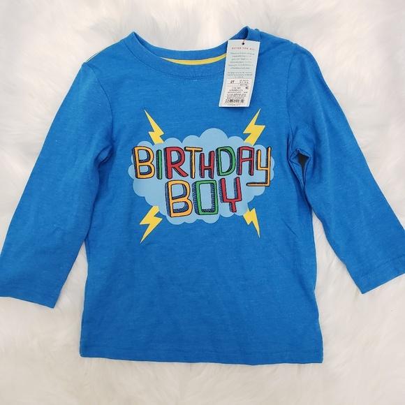 Cat Jack Shirts Tops 2t Birthday Boy Shirt Cat And Jack Poshmark