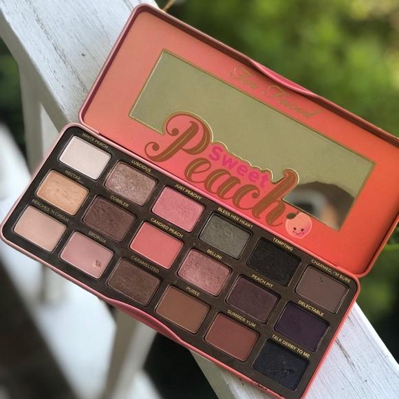 sweet peach palette # 43