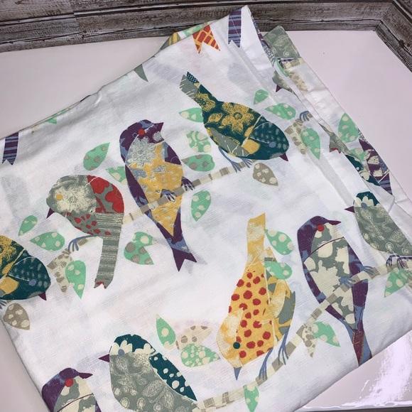 collingwood shower curtain birds from world market