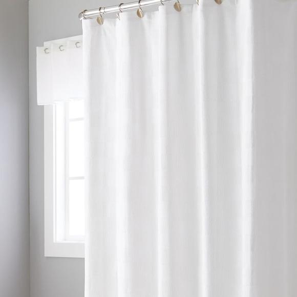 basketweave shower curtain target