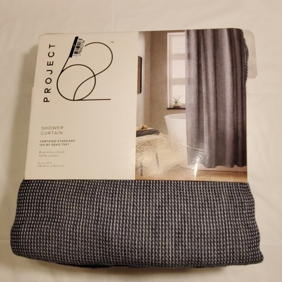 nwt project 62 shower curtain