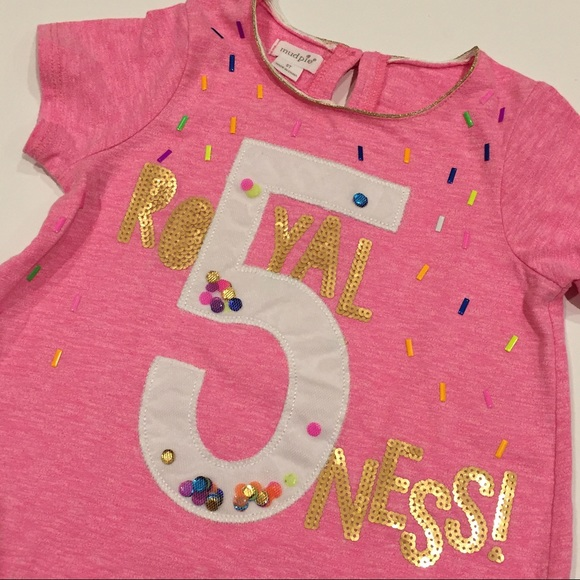 Mud Pie Shirts Tops New 5 Year Old Birthday Tshirt Poshmark