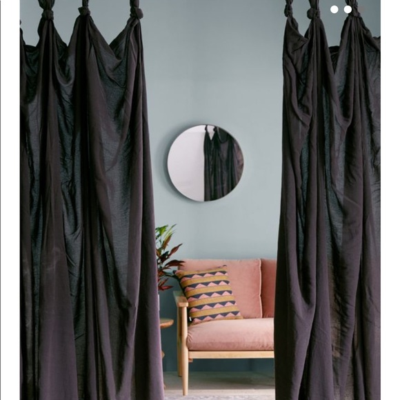urban outfitters knotted window panel 2 panels