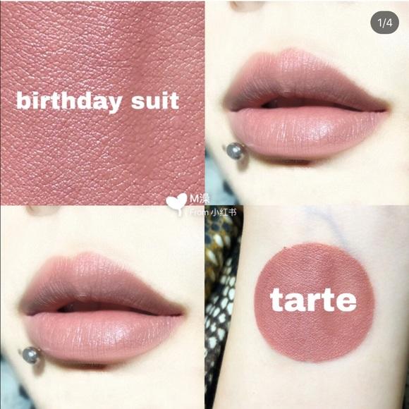 Tarte Makeup Tarte Quick Dry Matte Lip Paint Birthday Suit Poshmark