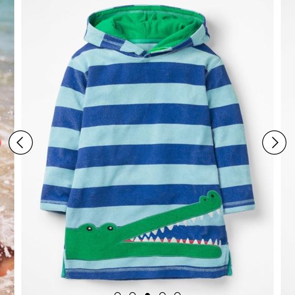 sale mini boden boy s swim cover up size 6 7