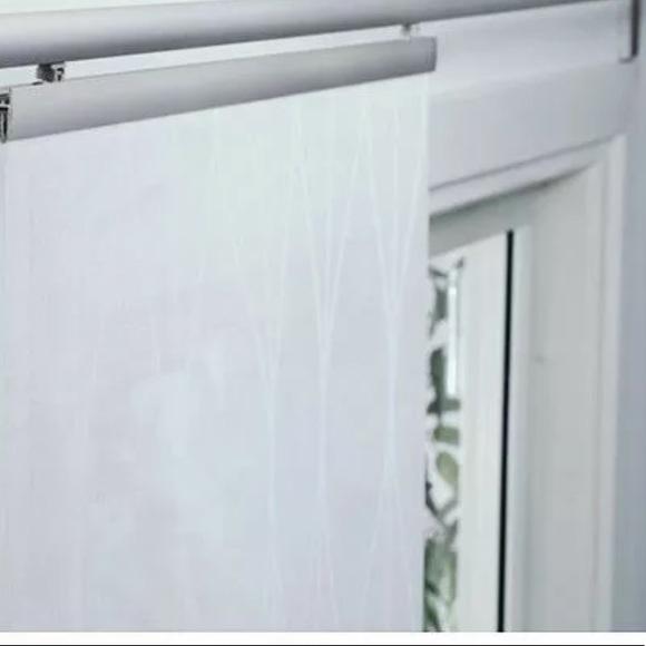 ikea grynet white curtain panel 24 x 108 new