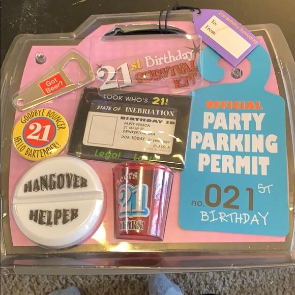 Amscan Other 2st Birthday Survival Kit Poshmark