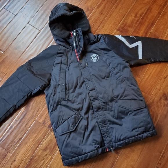 psg jordan parka jacket cheap 0e531 29fb5