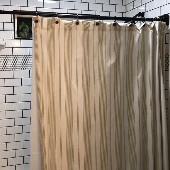 restoration hardware shower curtain