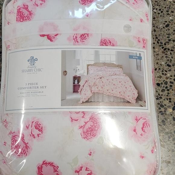 shabby chic king comforter set