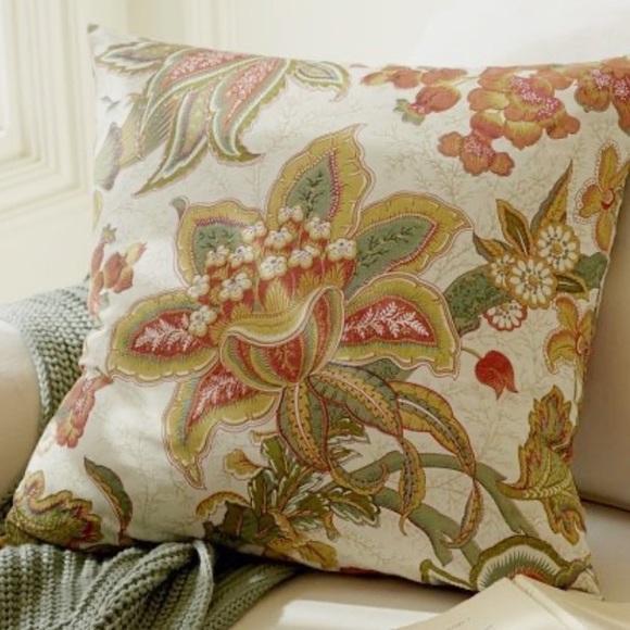 pottery barn ikat throw pillow cover
