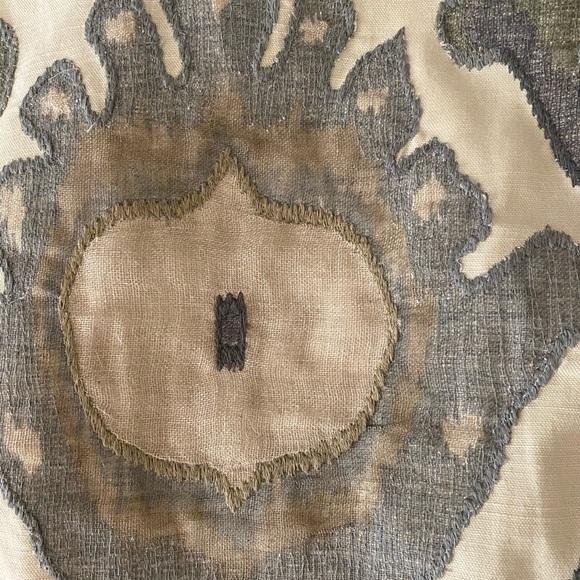 pottery barn hudson ikat pillow covers