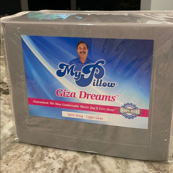 my pillow giza dream sheets